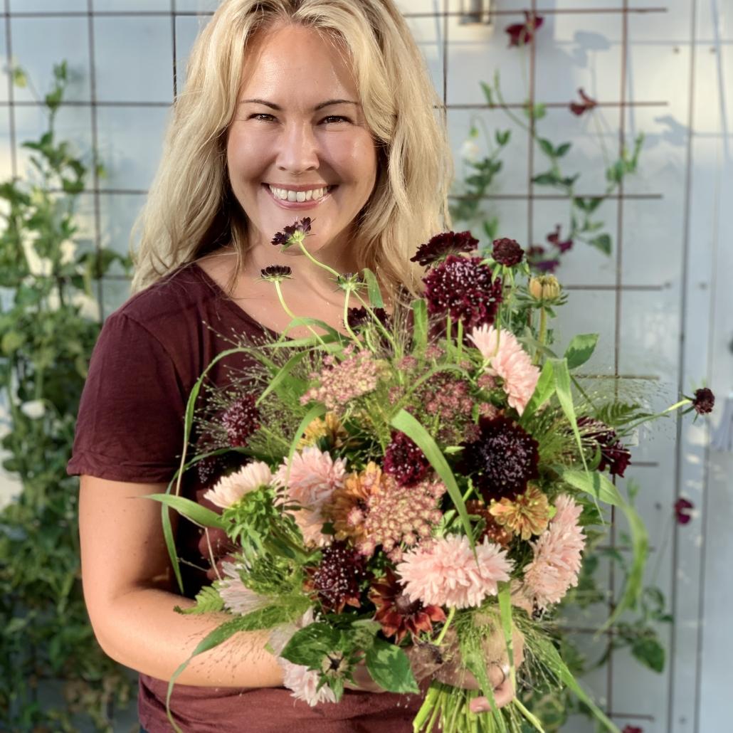 Söderåsdagen - Bind en prunkande bukett med närodlade blommor i säsong!